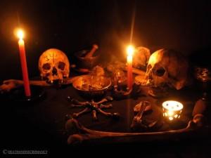 Quimbanda Altar